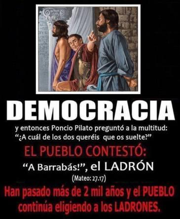 barrabasDemocracia