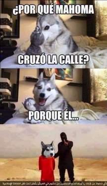 PorqueMahomaCruzo