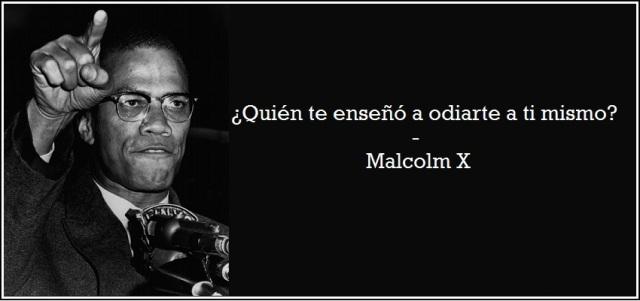 MalcolmXquienTeEnseñoAodiarteAtiMismo
