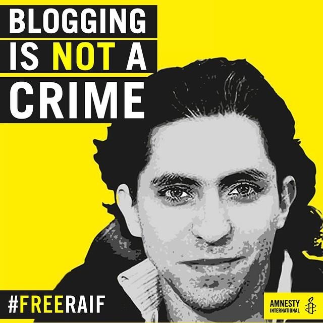 RaifBadawiBloggingIsNotACrime