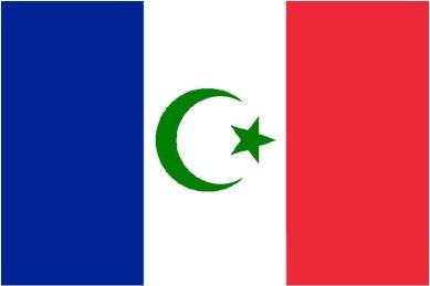 Francia-islamizada-bandera