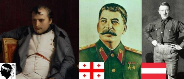 Napoleon-corso-stalin-georgiano-hitler-austriaco