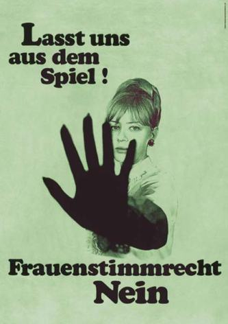 Schweiz-Frauenstimmrecht-nein